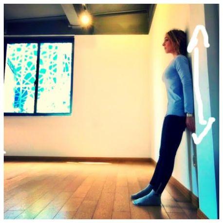 stretch standing