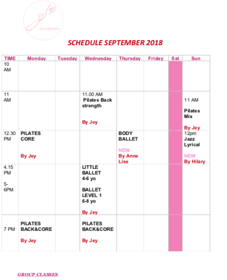 schedule PNG Sept 2018