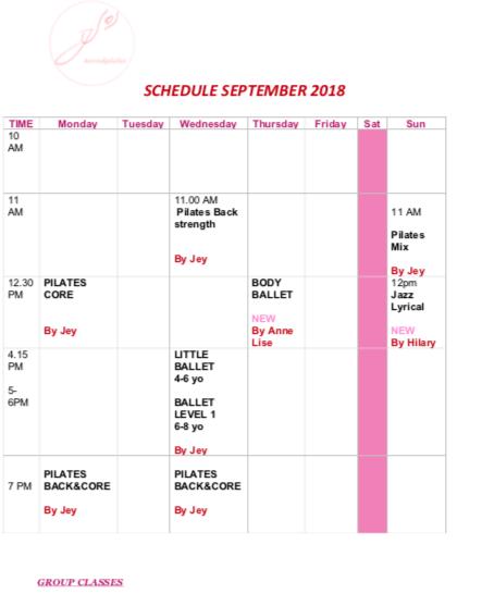 schedule PNG Sept 2018